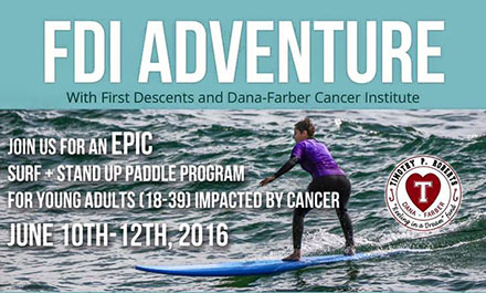 Surf and Stand up to Cancer Paddle Event